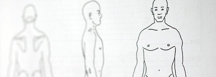 Acupuncture diagram